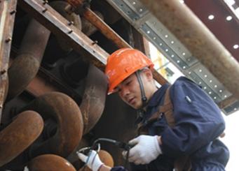 Ultrasonic thickness measurement service