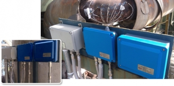 The electric field matrix on-line corrosion monitoring system
