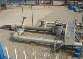 Monitor the oil and gas field downhole corrosion inductance probe